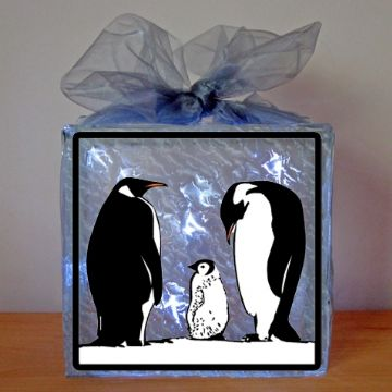 Penguin Family Vinyl Design Template